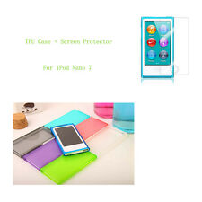 Candy Color Soft TPU Silicone Case cover for Apple iPod Nano 7 7G 7th generation