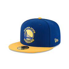 New Era Golden State Warriors 2Tone Yellow Royal 59Fifty Fitted Hat (Royal)