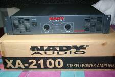 Nady XA-2100 Pro Stereo Power Amp 870 Watts RMS 2100 Watts Bridged