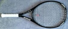 """Prince O3 Silver OS Tennis Racquet - 4 1/4"""" - 118 sq in - new Wilson overgrip"""