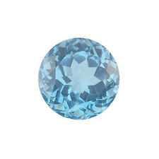 Natural Brazilian Swiss Blue Topaz AA Quality 1.5mm Faceted Round Loose gemstone