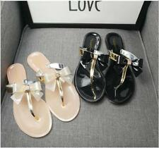 ***Women Summer Slippers Crystal jelly shoes Flat Sandals Beach Casual Footwear