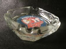 SYDNEY ROOSTERS  ASHTRAY ,GIVE IT AS A GIFT !LIGHTER WICK FLINT& LIGHTER FLUID !
