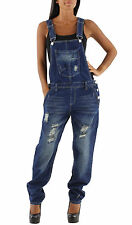 Womens Indigo Denim Bib Overalls Denim Bib Overalls Playsuit one piece