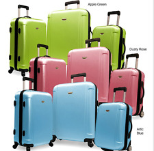 New Spacious Lightweight Durable 3-Piece Hardside Spinner Luggage Set