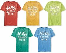 AEROPOSTALE MENS T-SHIRT PRINTED CRACKED GRAPHIC AERO NEW YORK LOGO TEE TOP NWT