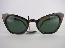 Cats Eye Sunglasses 50s Rockabilly PinUp Hipster Square Tortiseshell Beverley