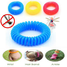 5/10pcs Anti Mosquito Bug Insect Repellent Bracelet Wrist Band Repellent