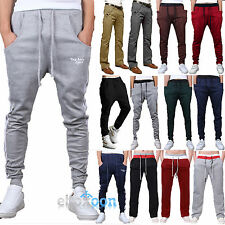 Mens Casual Harem Pants Running Sports Baggy Sport Trousers Fitness Sweatpant