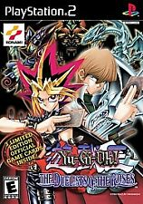 Yu-Gi-Oh The Duelists of the Roses (Sony PlayStation 2, 2003) US Complete TESTED