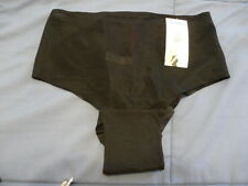 NWT SPANX SKINNY BRITCHES 902 SHEER SHAPING HIPSTER PANTIES Black 3X Ret.$35