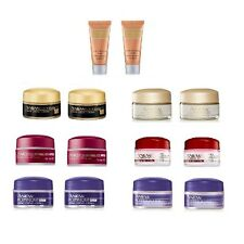 2 X Avon Travel Size Face Creams ~ Day, Night, Serum ~ Skin Care Anew, Solutions