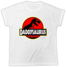 Fathers Day T-Shirt Dad T-Rex Old Dinosaur Ideal Gift Present Unisex Tshirt