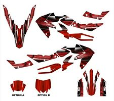 aprilia SXV 450 RXV 550 graphics deco kit 2006 - 2013 #2001 Red