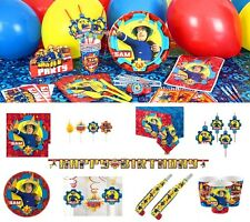 Fireman Sam Birthday Party Decorations Tableware Supplies Napkins Plates Cups