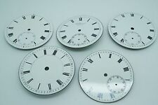 Enamel Pocket Watch Dials - Choose From Many !! - Mint Condition