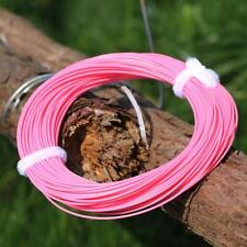 WF4/5/6/7/8F Trout Fly Fishing Line 100FT Weight Forward Floating Pink