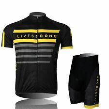 New Cycling Short Sleeve  jersey Jacket Shorts Outdoor Bicycle Wear BLACK