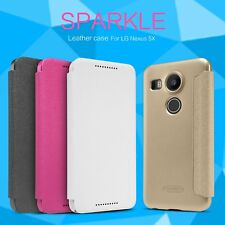 Nillkin Sparkle PU Leather Flip Case Cover for LG Nexus 5X H798 H791