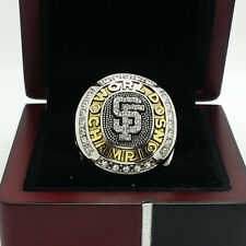 2010 San Francisco Giants World Series Championship Copper Ring 8-14Size Gift