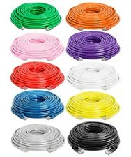75Ft Cat6 RJ45 UTP Network LAN Router Ethernet Internet Patch Cable CCA