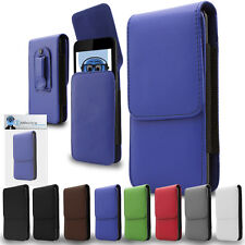 Premium PU Leather Vertical Belt Pouch Holster Case for Generic Universal