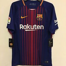 NEW! Nike FC Barcelona Official 2017 2018 Home Soccer Football Jersey