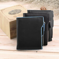 New Men Leather Wallet Pocket ID credit Card money Bifold Purse