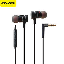 Awei Metal Headphone 3.5mm Jack In-Ear Earphone Stereo Headset Heavy Bass Sound
