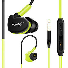 Fonge Sport Headphones 3.5mm Earphone With Mic Running Stereo Bass Music Headset