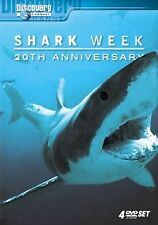 DVD:   4-DISC DISCOVERY CHANNEL SHARK WEEK.....20th ANNIVERSARY  COLLECTION