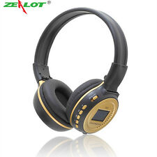Zealot N65 Earphone MP3 Digital Wireless Headset Headphone Stereo Music FM Radio