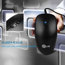 1000dpi Wired Optical Mouse Slim Mini Wired Mice USB for PC Laptop V4000 #S