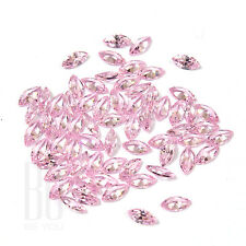 Pink Color Cubic Zirconia AAA Quality Calibrated Size Marquise Shape gemstones
