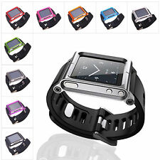 New Wristband Watch Bracelet Cover Case for Ipod Nano 6 generation 9 colors