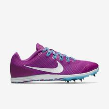 Nike 806560-514 Zoom Rival D Purple Womens Track Distance Racing Shoes SZ 8,9.5