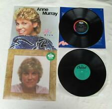 2 ANNE MURRAY LP'S HEART OVER MIND & A COUNTRY COLLECTION CAPITOL LABELS