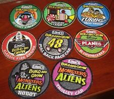 Lowe's Build and Grow Patches: Turbo,Monsters vs Aliens,Planes,#48 and more!