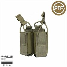 PTF MOLLE Rapid Reload Pistol Mag Pouch - Double
