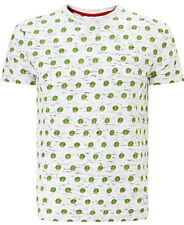 HYMN Exclusive Men's Odd Man Out Sprout Print T-Shirt, Grey