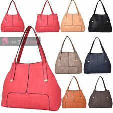 NEW WOMENS HIGH QUALITY PU LEATHER WINGS LARGE SHOULDER TOTE BAG HANDBAG