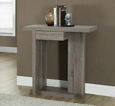 Wooden Console Table Modern Accent Sofa Entryway Entry Hall Home Wood Furniture