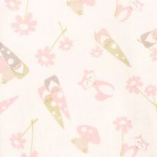 Trend Lab Garden Gnomes Deluxe Flannel Fitted Crib Sheet
