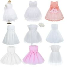 Flower Girl Princess Dress Kids Party Wedding Birthday Pageant Formal Tutu Dress