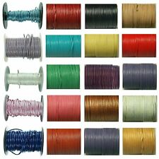TZ Laces Cord Round 2mm Leather Lace Shoes Boots Fashion Shoes New