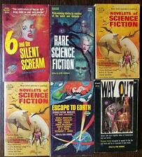 Ivan Howard lot of 6 SF anthologies - Dick, Budyrs, Silverberg, Blish, Clarke++
