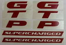 GTP Badge Overlay Decal Set for 1997-2002 Grand Prix