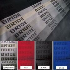 JDM Gradation Bride Fabric Seat Cloth Racing Seats Cover Interior Cloth 1M×1.6M