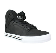 Supra Mens Vaider High Top Shoes- Black/White