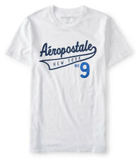 AEROPOSTALE MENS T-SHIRT LOGO GRAPHIC TEE SHIRT EMBROIDERED APPLIQUE TOP AERO NY